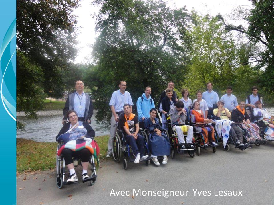Avec Monseigneur Yves Lesaux