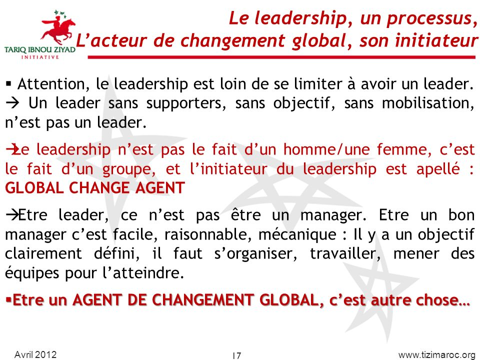 Attention, le leadership est loin de se limiter à avoir un leader.