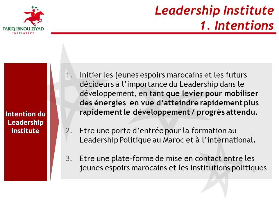 Leadership Institute 2.