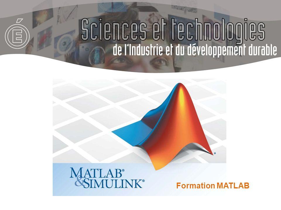 MATLAB® (pour MATrix LABoratory) est un logiciel scientifique de calcul numérique créé en 1984 par Mathworks.