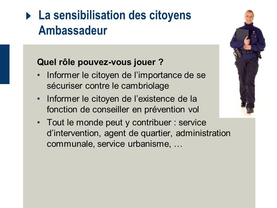 La sensibilisation des citoyens Ambassadeur Quel rôle pouvez-vous jouer .