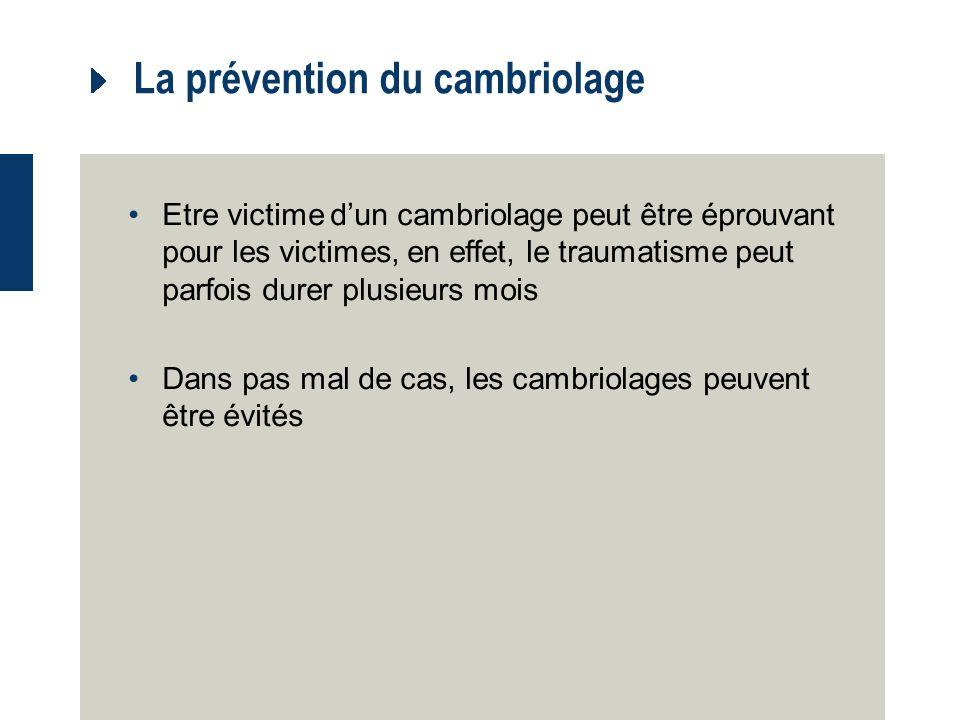 Mesures de prévention 3.