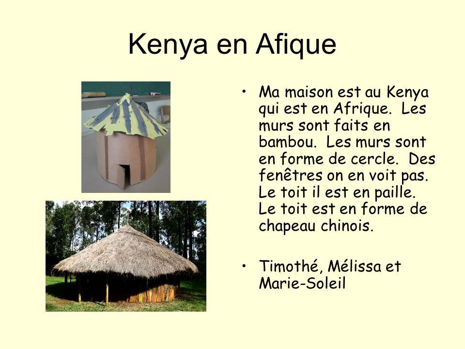 Japon en Asie Ma maison est au Japon, en Asie. Les murs sont faits de bois. Le toit est carré avec un triangle au-dessus. Il y a beaucoup de fenêtres