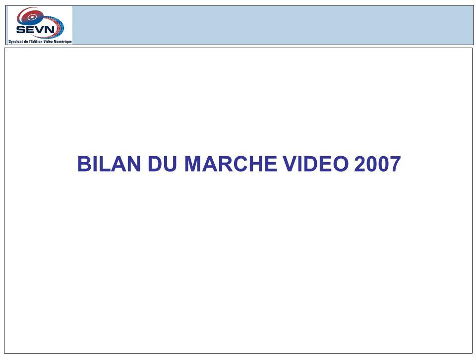 BILAN DU MARCHE VIDEO 2007