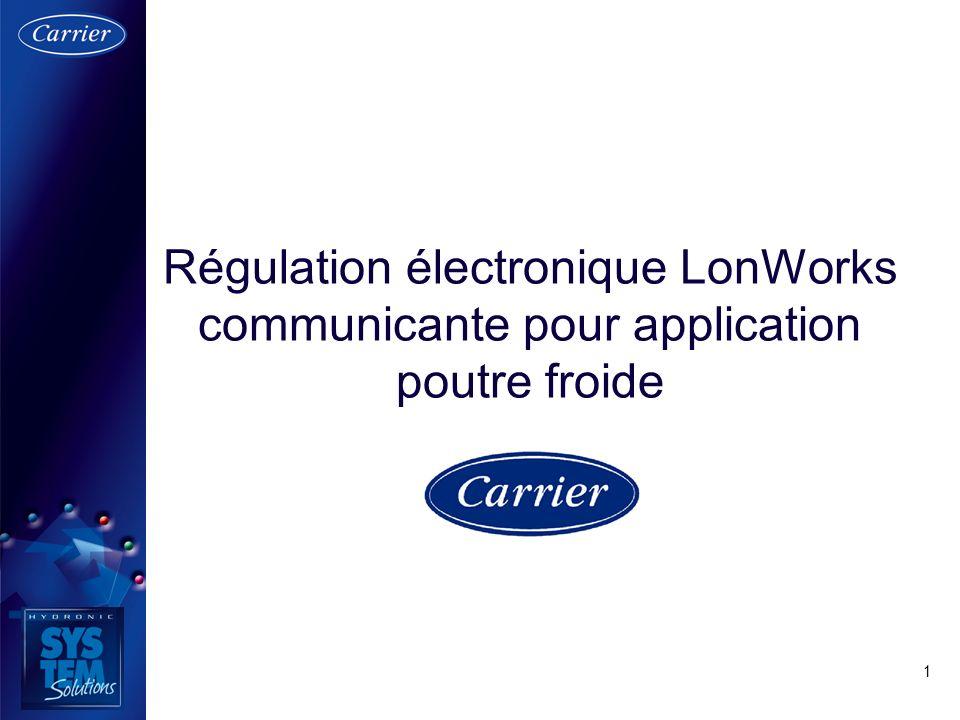 1 Régulation électronique LonWorks communicante pour application poutre froide
