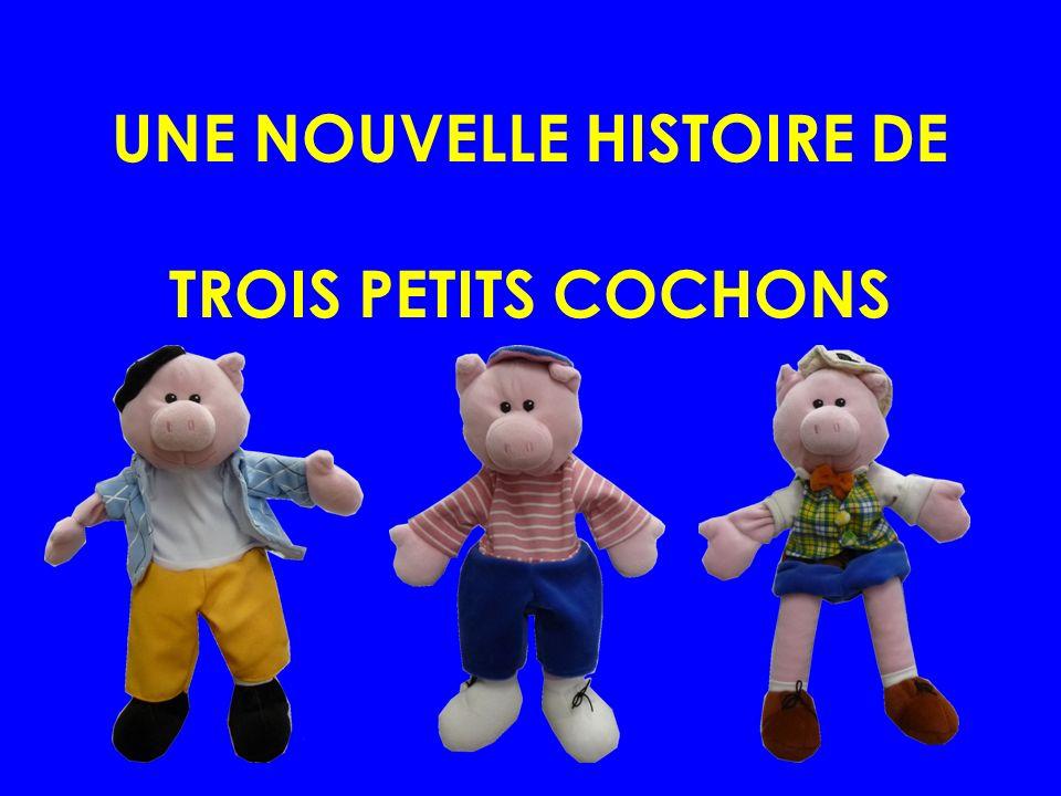 UNE NOUVELLE HISTOIRE DE TROIS PETITS COCHONS