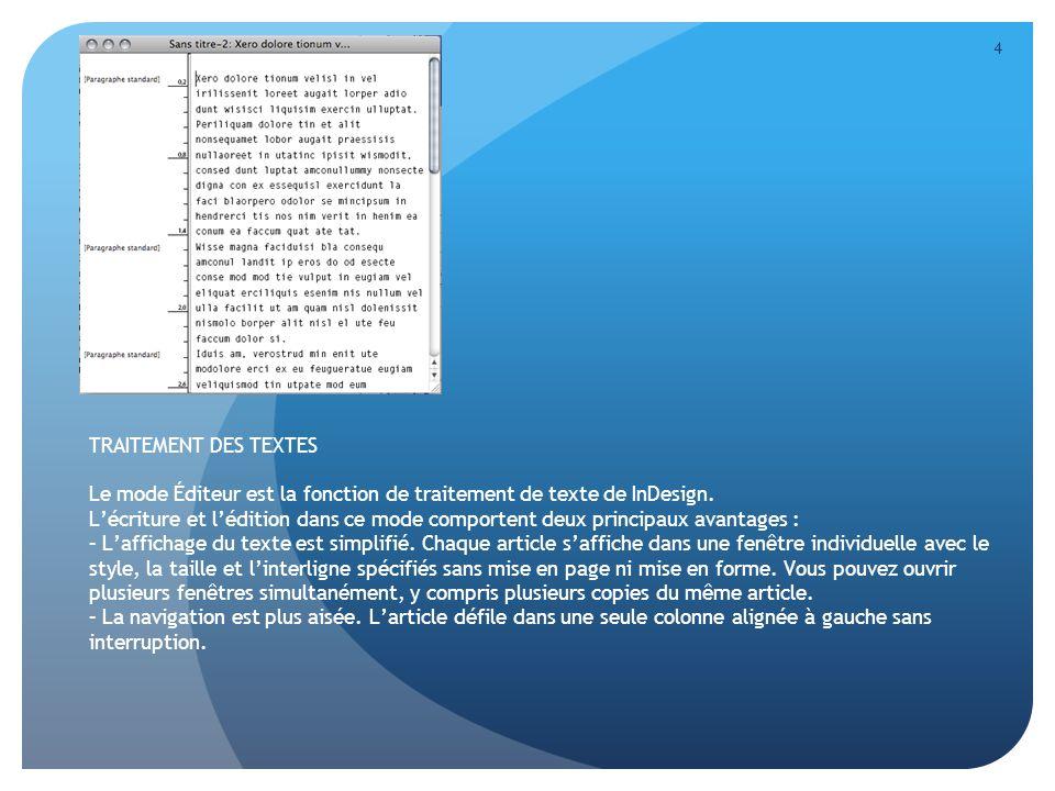 5 LIVRES, TABLES DE MATIÈRES ET INDEXATION InDesign comporte plusieurs fonctions qui vous permettent dorganiser des documents complexes: Les Livres sont un ensemble de documents pouvant partager des styles et des nuanciers.
