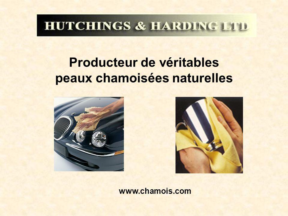 Producteur de véritables peaux chamoisées naturelles www.chamois.com
