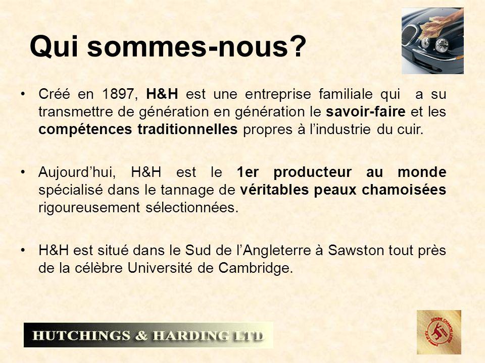Qui sommes-nous? Créé en 1897, H&H est une entreprise familiale qui a su transmettre de génération en génération le savoir-faire et les compétences tr