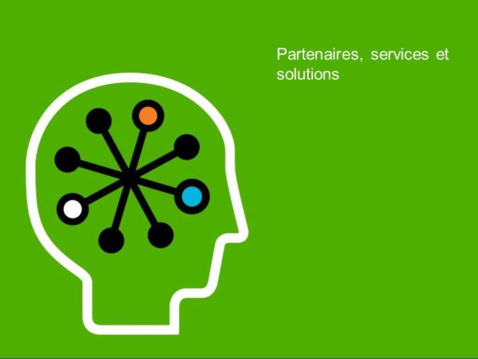 Partenaires, services et solutions