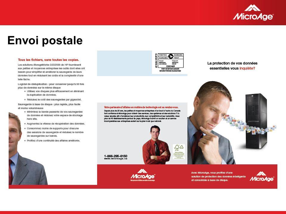© 2006 MicroAge Envoi postale