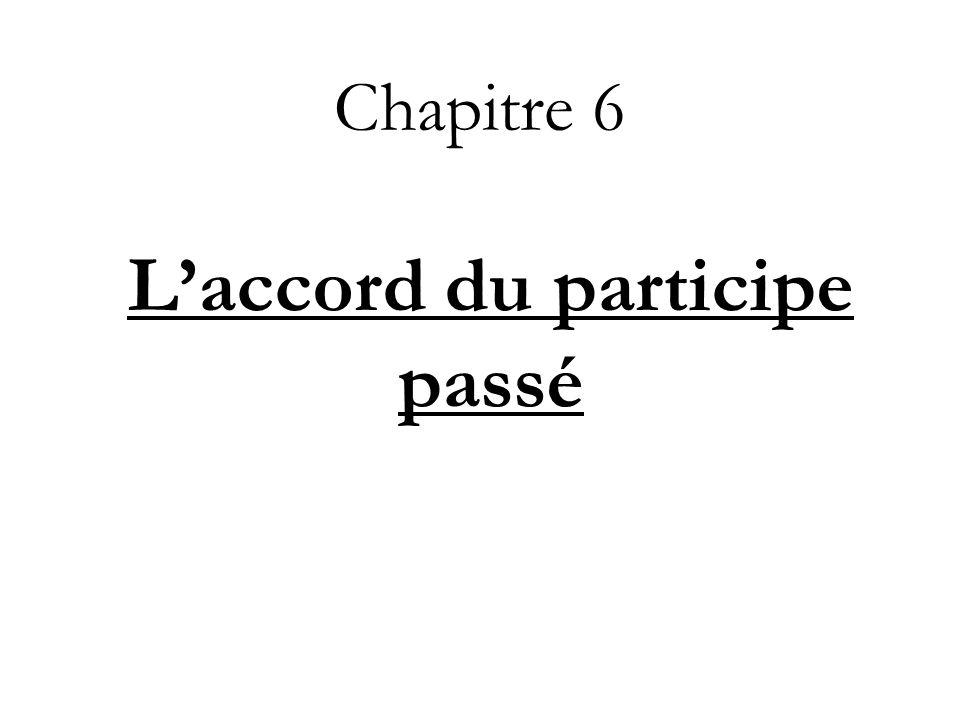 PP des verbes essentiellement pronominaux saccorde avec le sujet (le pronom fait partie intégrante du verbe) Exemples: Elles se sont évanouies.