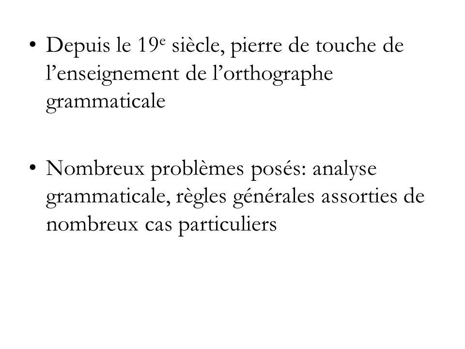 PP des verbes occasionnellement pronominaux saccorde avec le complément dobjet direct si celui-ci précède.