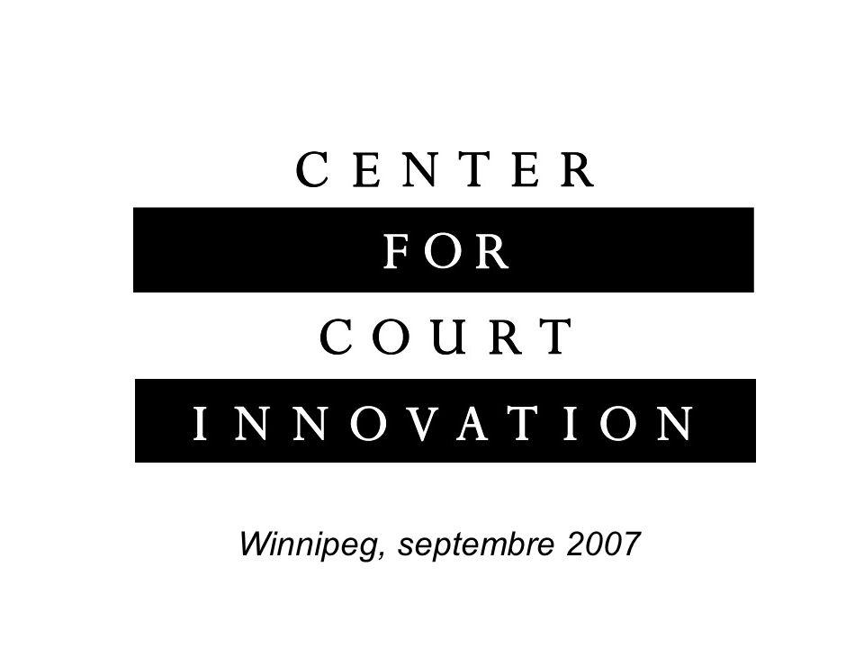 Quatre questions Quest-ce que le Center for Court Innovation .