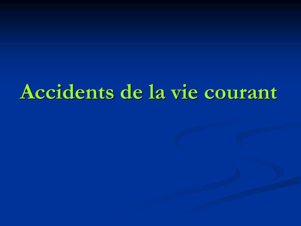 Accidents de la vie courant