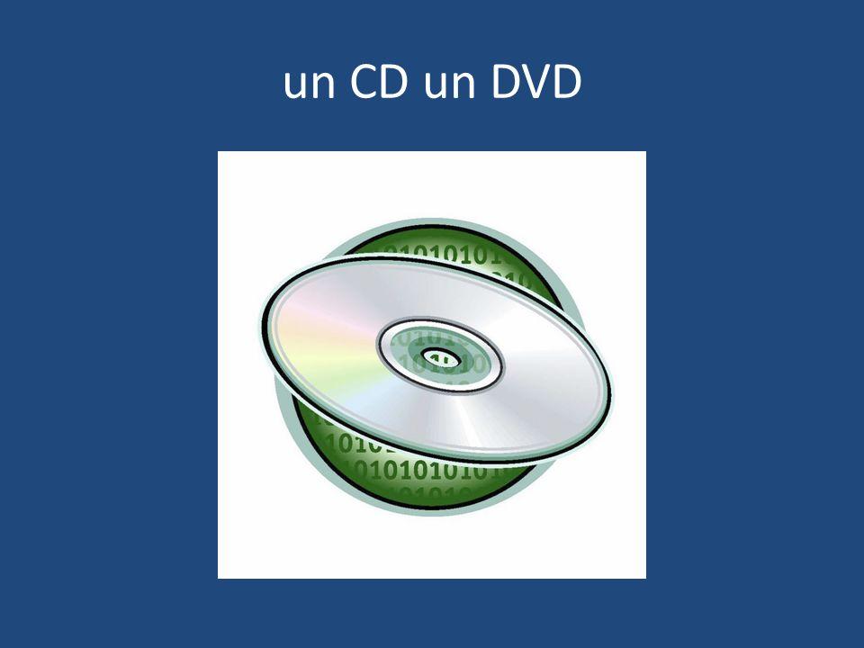 un CD un DVD
