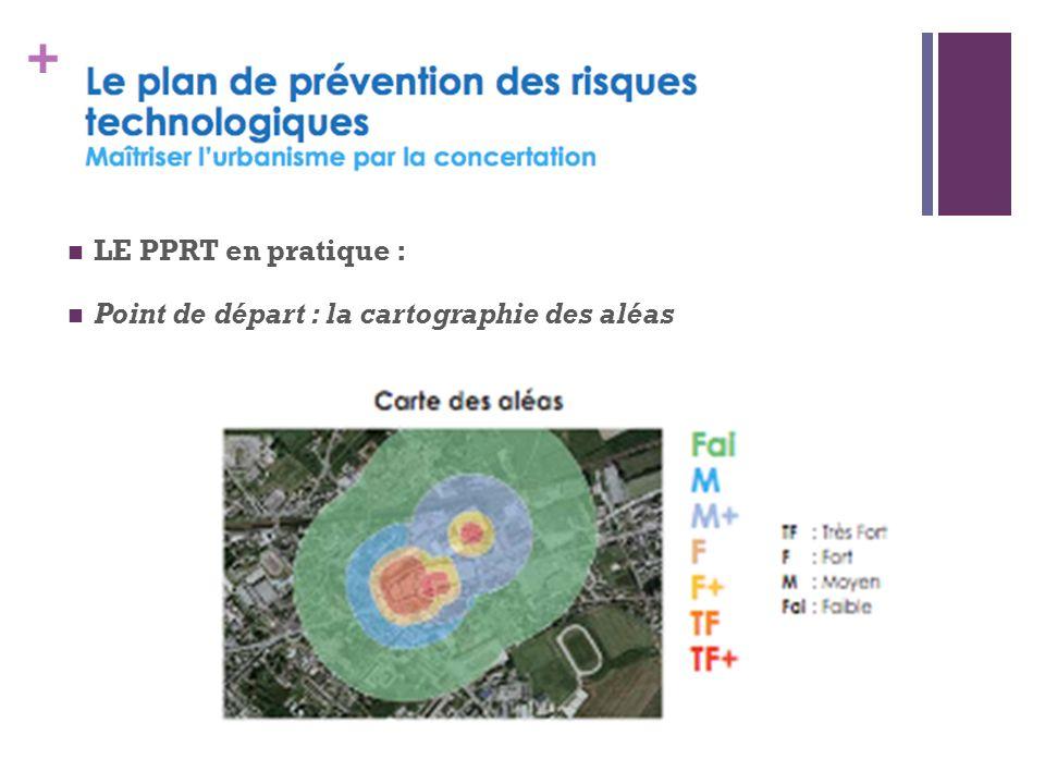 + LE PPRT en pratique : Point de départ : la cartographie des aléas