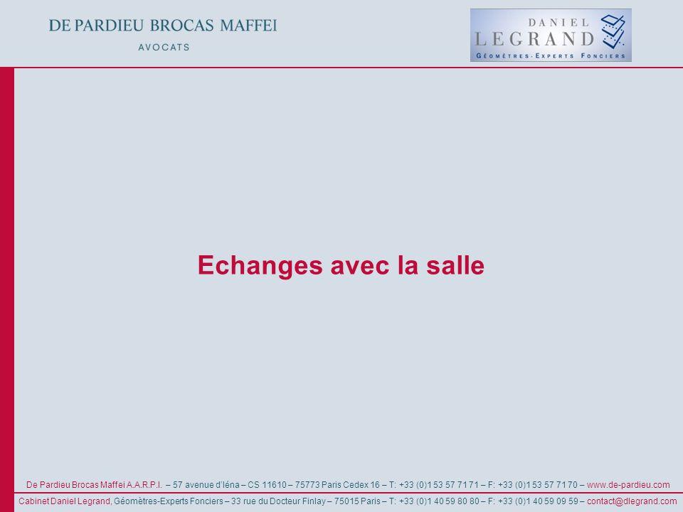 © De Pardieu Brocas Maffei A.A.R.P.I. De Pardieu Brocas Maffei A.A.R.P.I. – 57 avenue dIéna – CS 11610 – 75773 Paris Cedex 16 – T: +33 (0)1 53 57 71 7