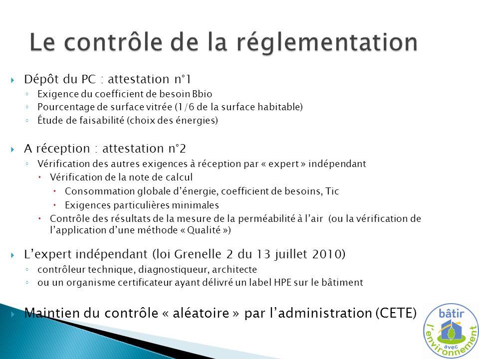 Bbiomax Cep max Tic ref Exigences mini Attestation 2 Organigramme de la RT2012 Attestation 1