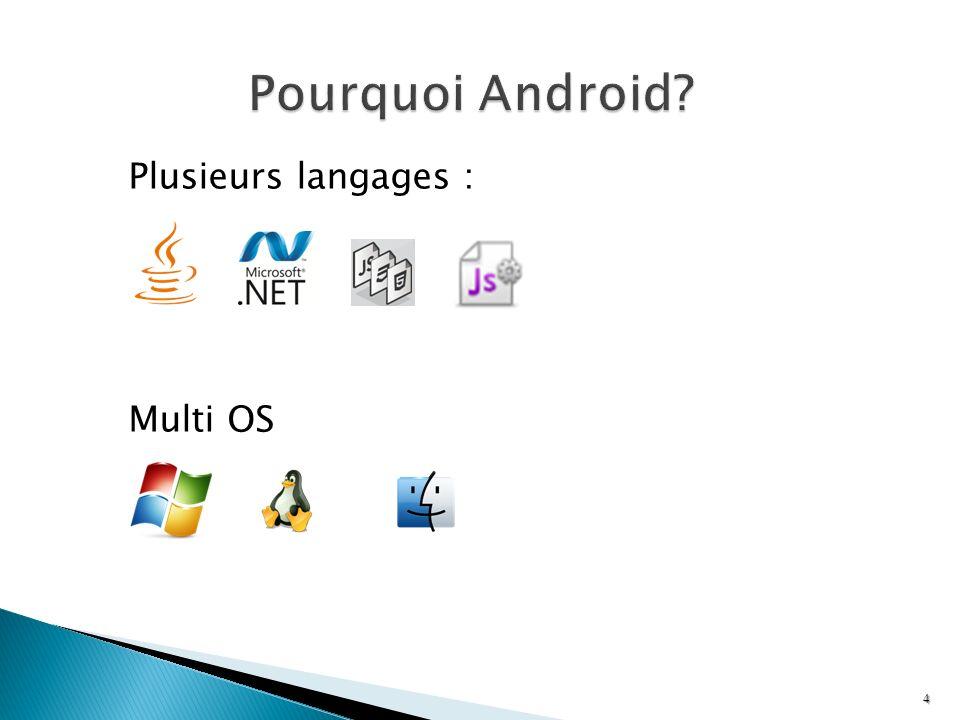 Plusieurs langages : Multi OS 4