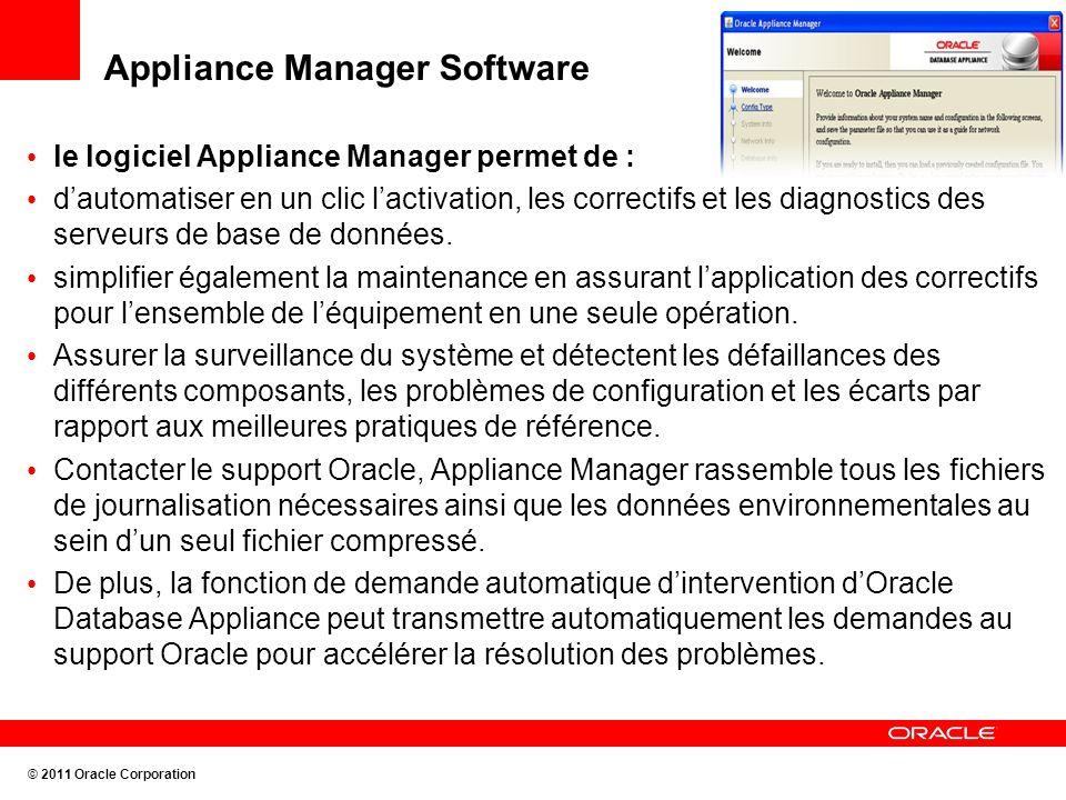 Appliance Manager Software le logiciel Appliance Manager permet de : dautomatiser en un clic lactivation, les correctifs et les diagnostics des serveu
