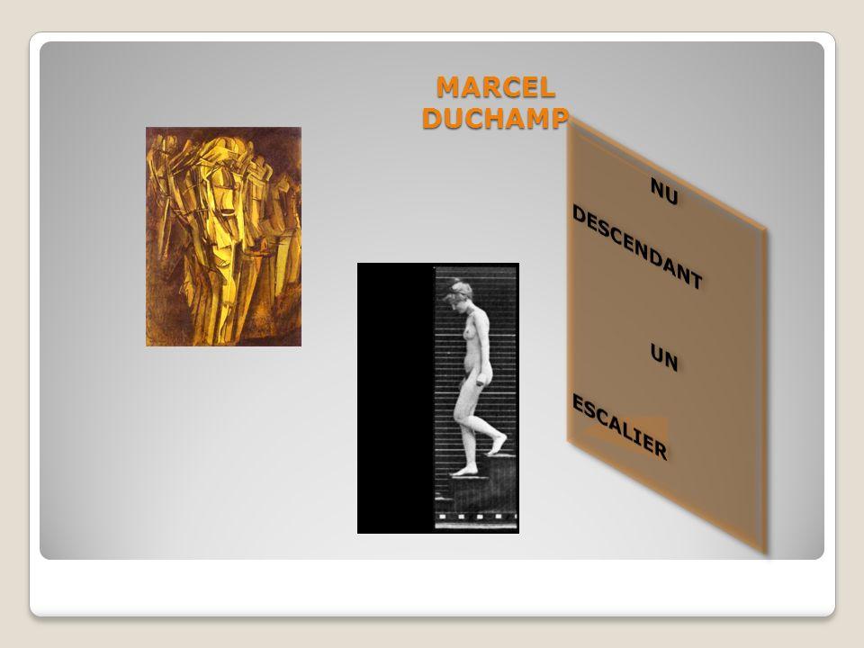 BIOGRAPHIE Marcel DUCHAMP (1887- 1968) est un peintre, plasticien, homme de lettres français, naturalisé américain en 1955.