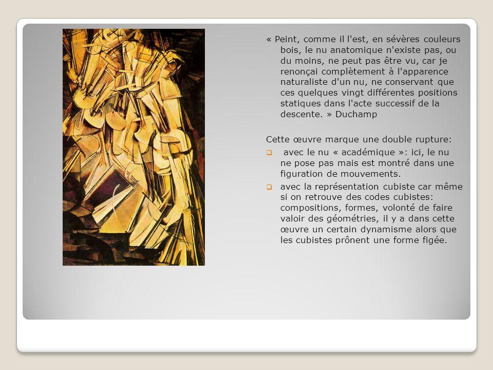 Du READY-MADE Du READY-MADE Le ready-made est un objet trouvé considéré comme un objet d art.