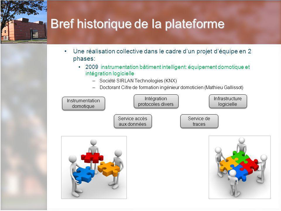 Description de la plateforme La régie, cœur de la plateforme Centralisation des flux de données Observation –Vitres sans tain –Retour caméras –Annotation en live