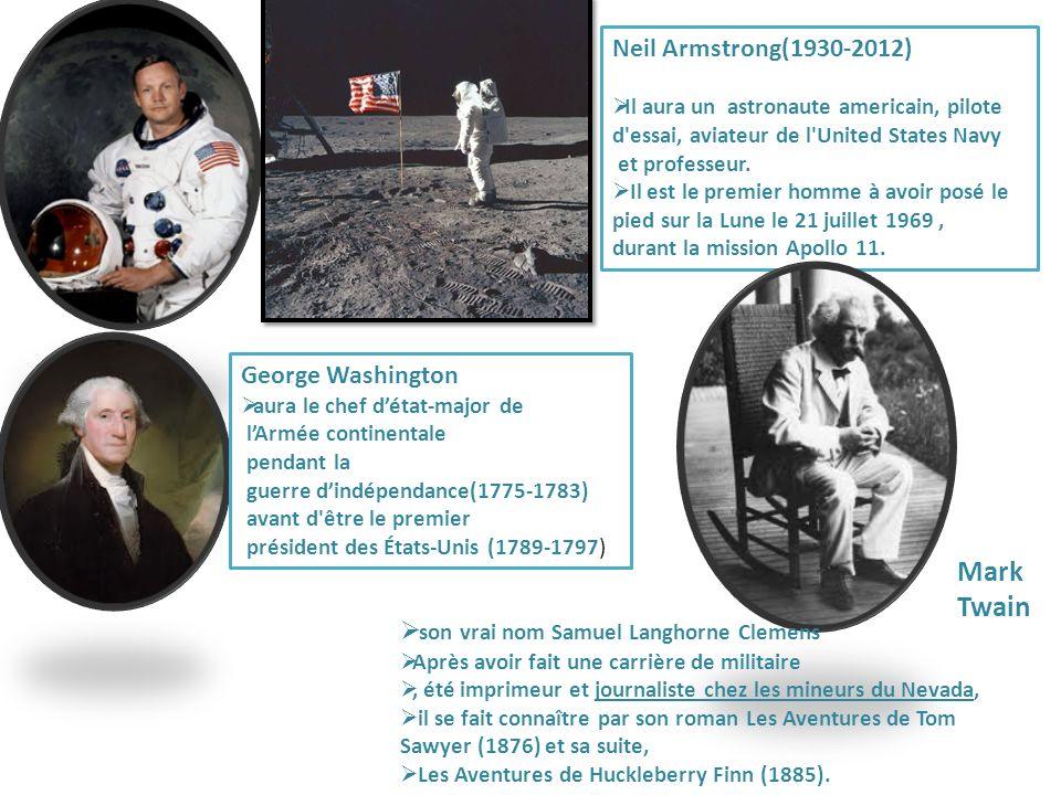 Neil Armstrong(1930-2012) Il aura un astronaute americain, pilote d'essai, aviateur de l'United States Navy et professeur. Il est le premier homme à a