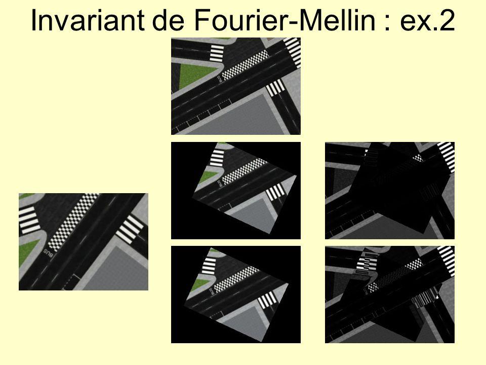 Transformations dordre supérieur Sélection de points damer : Manuellement (identification de points homologues dans les deux images) Automatiquement (cf.