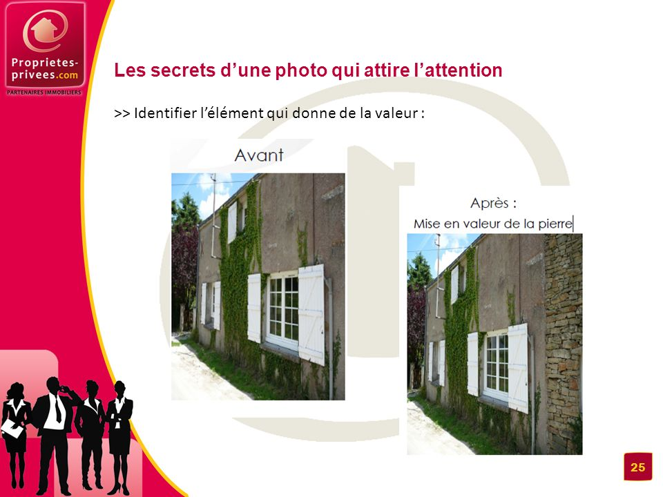 Les secrets dune photo qui attire lattention >> Identifier lélément qui donne de la valeur : 25