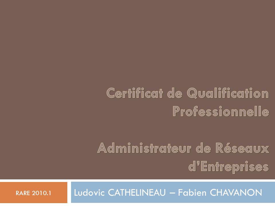 Ludovic CATHELINEAU – Fabien CHAVANON RARE 2010.1