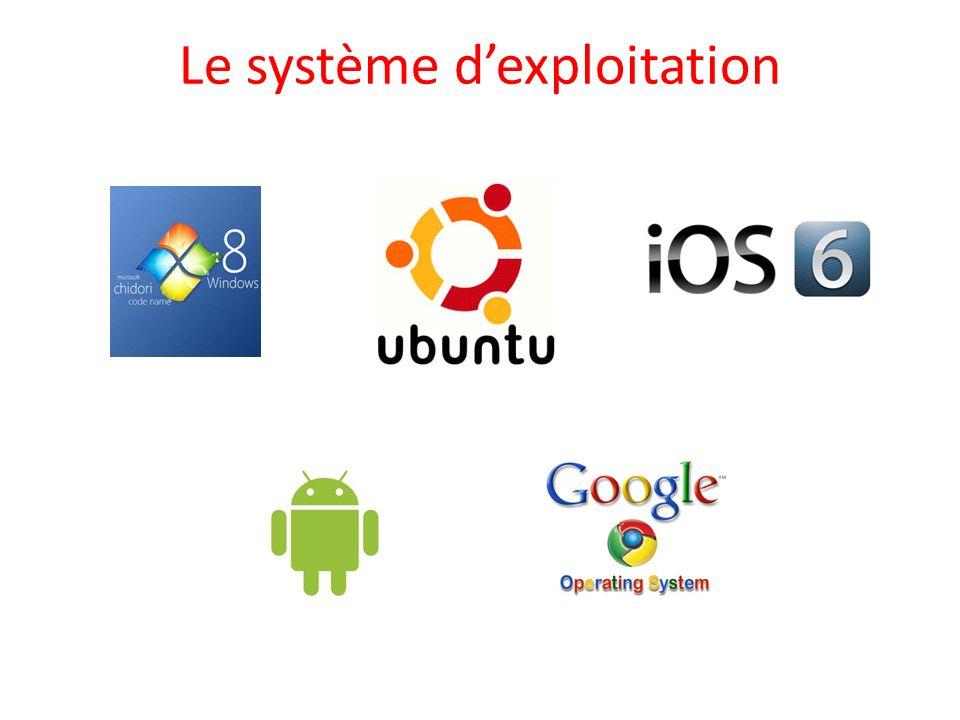 Le système dexploitation