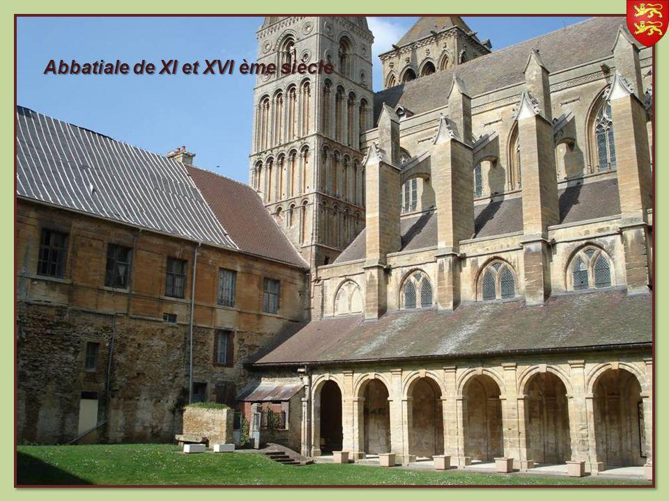 Abbatiale de XI et XVI ème siècle