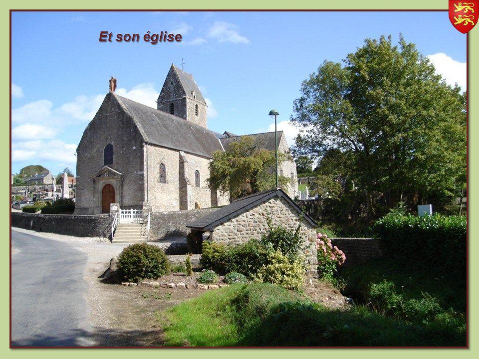 Gonneville, commune du val de Saire avec son château Médiéval