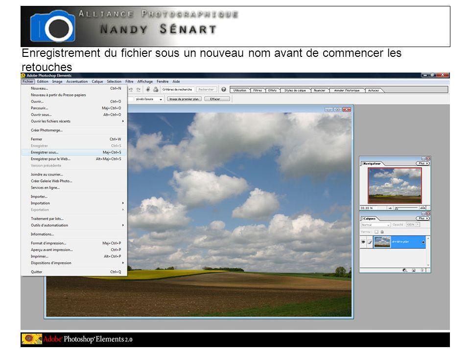 Sélection du format denregistrement « JPEG »