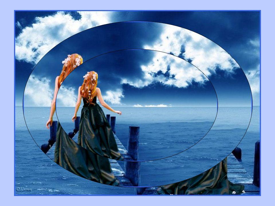 Toi, la Vie Qui na pas franchi lhorizon, Au-delà de son propre regard, A endeuillé son cœur de passions, Emmitouflant la Vie dun foulard.