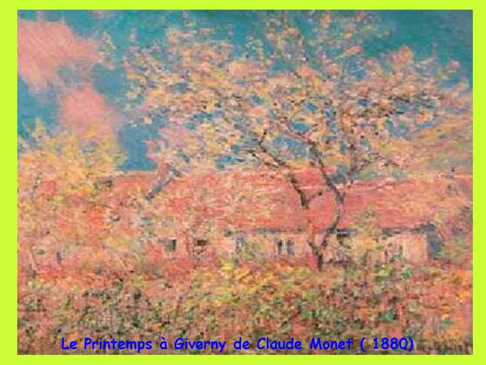 Les iris de Giverny Claude Monet (1900) Les iris de St Rémy de Provence Van Gogh (1889)