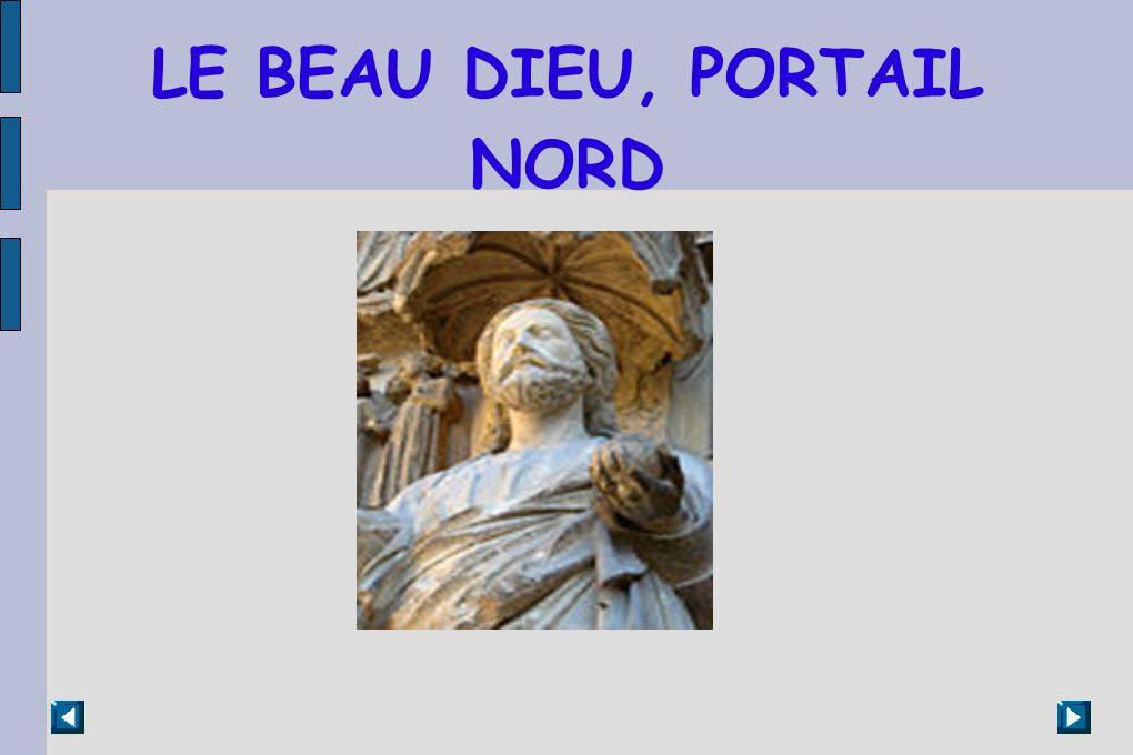 LE BEAU DIEU, PORTAIL NORD