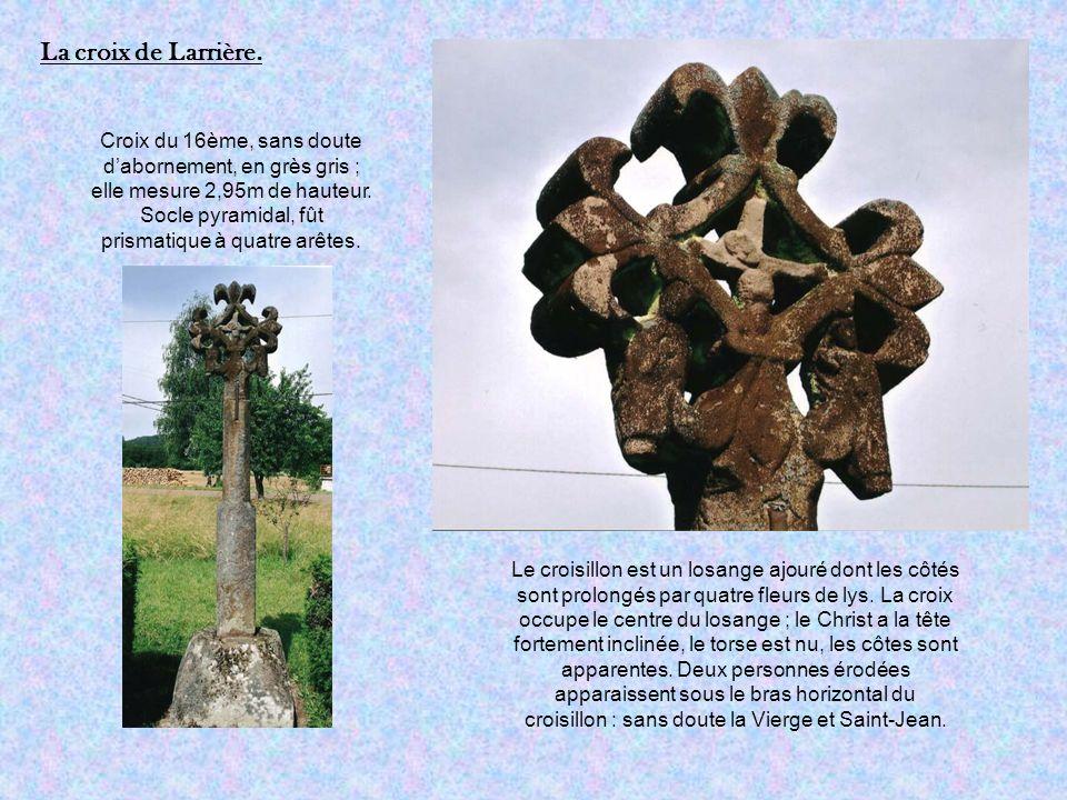 La croix de Larrière.