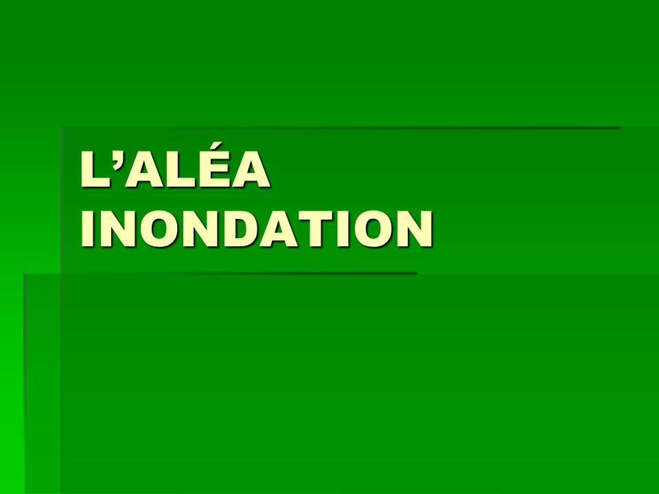 LALÉA INONDATION