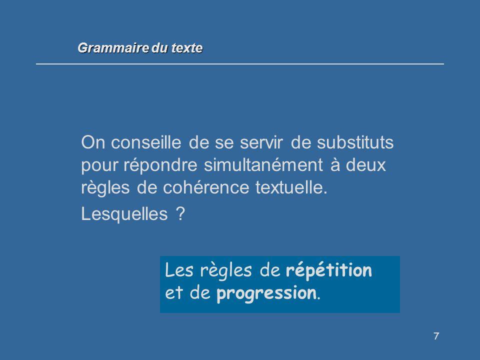 58 Quelle relation sémantique apparaît dans cette phrase et quel est le moyen utilisé pour l exprimer .