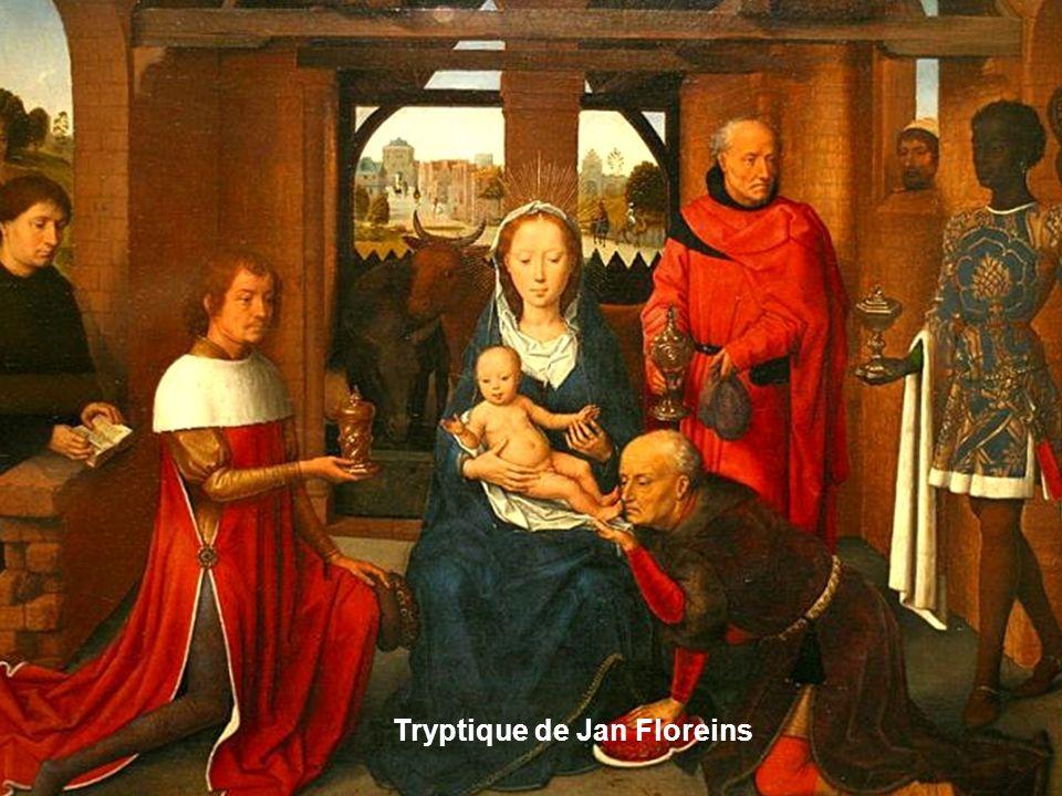 Partie centrale du Tryptique de St Jean Baptiste
