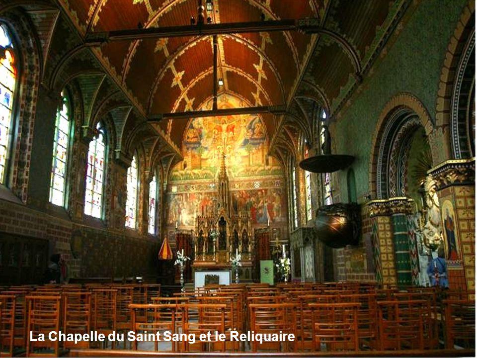 La Chapelle du Saint Sang et le Reliquaire