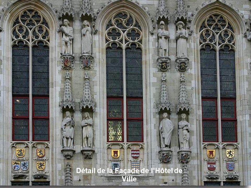 Fenêtres typiques de Bruges