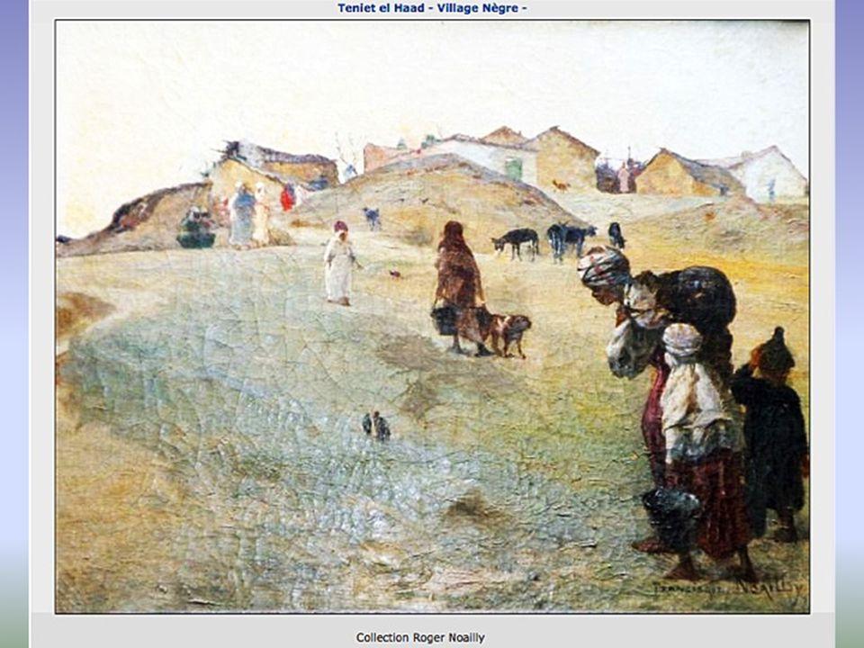 Dans ses peintures, à lhuile ou aquarelles, il joue avec les ombres, la lumière et les contre-jours : dockers déchargeant une balancelle ou femme tissant un tapis.