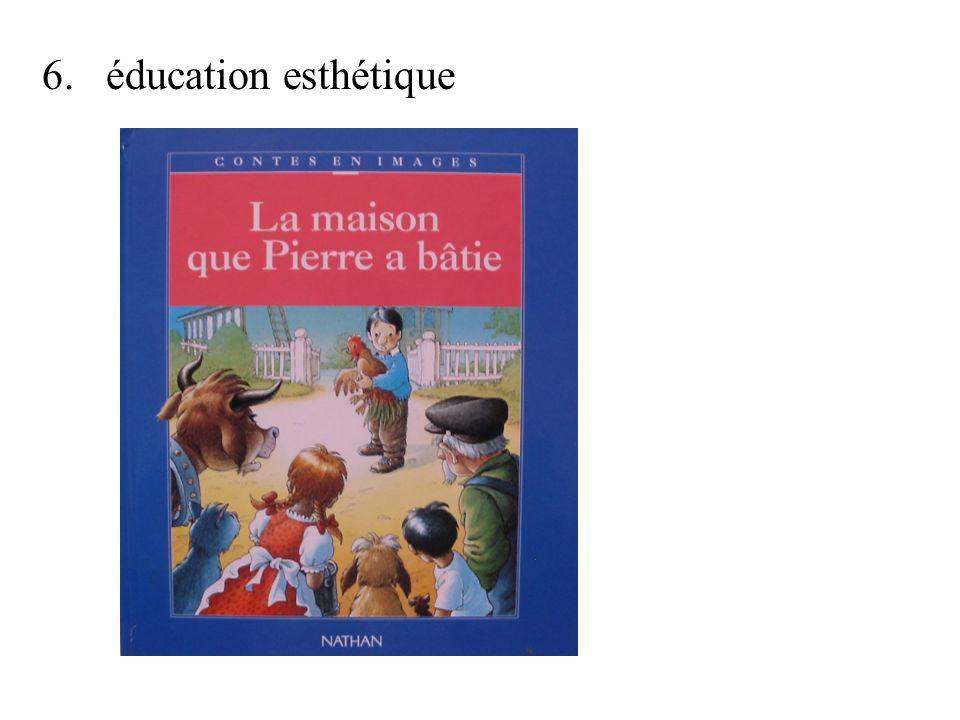 6.éducation esthétique