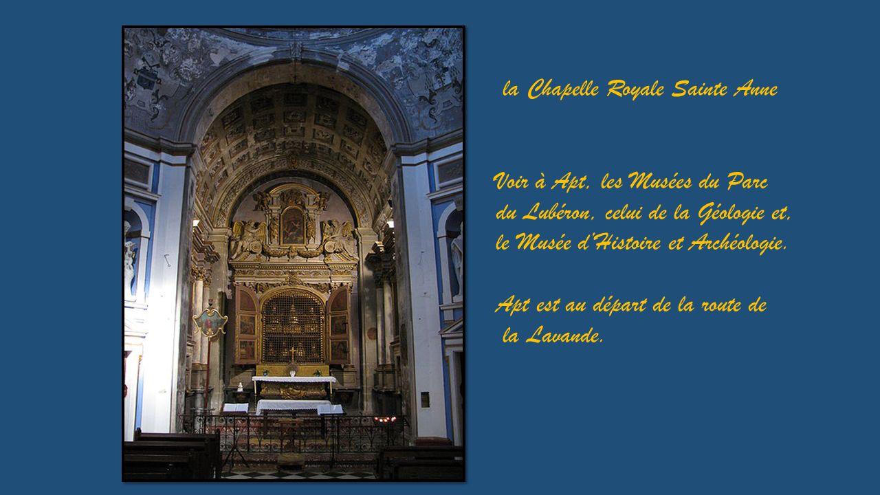 Cryptes dépoque mérovingienne, le trésor et la Chapelle Royale font partie de la Cathédrale Sainte Anne.