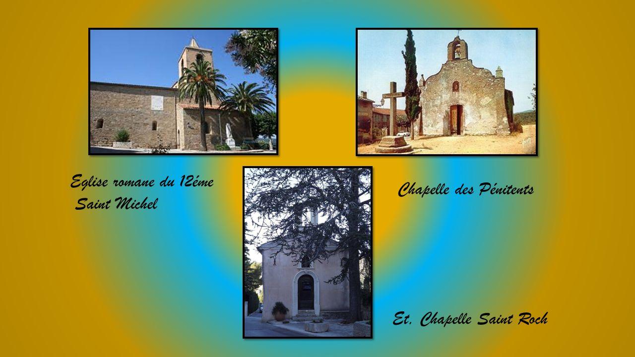 Eglise romane du 12éme Saint Michel Chapelle des Pénitents Et, Chapelle Saint Roch