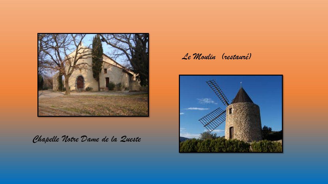 Chapelle Notre Dame de la Queste Le Moulin (restauré)